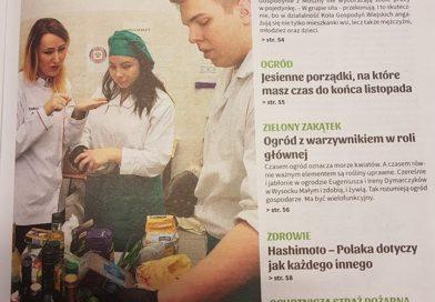 """Nasi uczniowie i nauczyciele w projekcie """"Gotuj Lokalnie"""""""