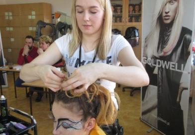 Międzyszkolny konkurs fryzjerski