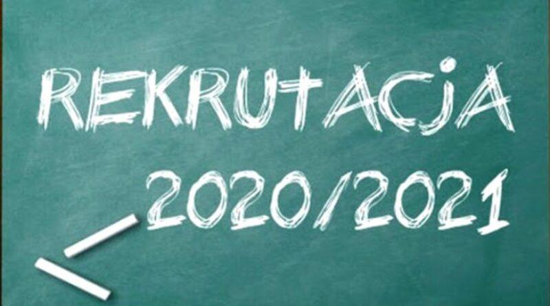 Rekrutacja – rok szkolny 2020-2021
